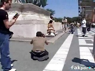 Amateur public fuck
