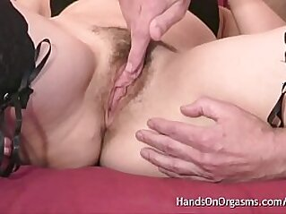 clit  ,  fingering  ,  hairy cunt  ,  lingerie  ,  masturbation   chinese porn